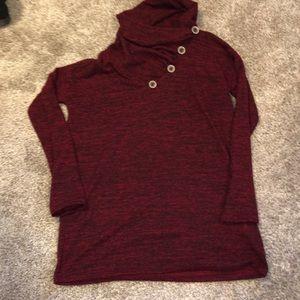 Super Soft Cowl Neck Sweater Size Medium